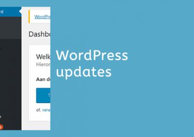 Updaten WordPress en Plugins