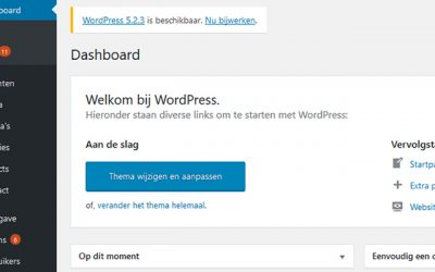 Updaten WordPress en Plugins