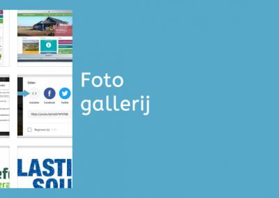 WordPress foto galerij maken